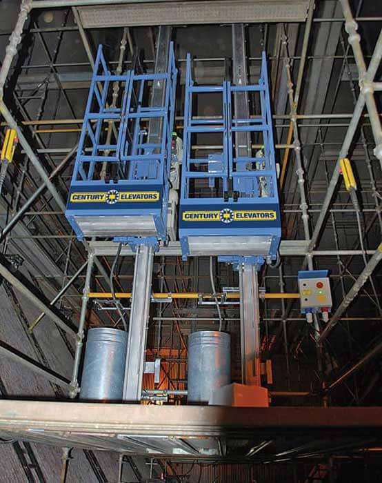 MH 660 Boiler Hoist Distributor | Century Elevators
